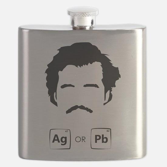 Plata O Plomo Flask