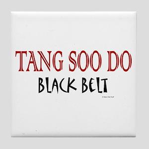 Tang Soo Do Black Belt 1 Tile Coaster