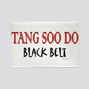 Tang Soo Do Black Belt 1 Rectangle Magnet