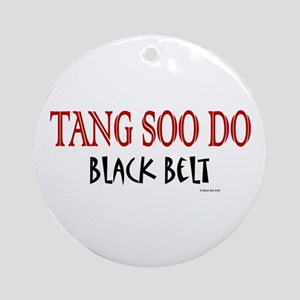 Tang Soo Do Black Belt 1 Ornament (Round)