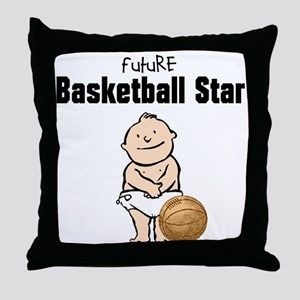 Future Basketball Star Nursery Pillow