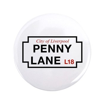 Penny Lane, Liverpool Street Sign, UK 3.5