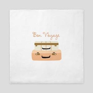Bon Voyage Queen Duvet