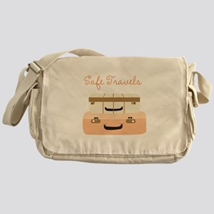 Safe Travels Messenger Bag