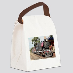 I'm hot and steamy: Goldfields st Canvas Lunch Bag