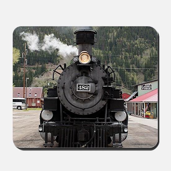 Steam train engine Colorado, USA 4 Mousepad