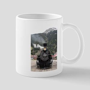 Steam train engine Colorado, USA 4 Mugs