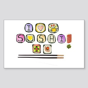 sushi Rectangle Sticker