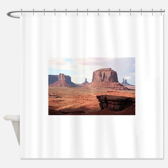Monument Valley, John Ford's Point, Shower Curtain
