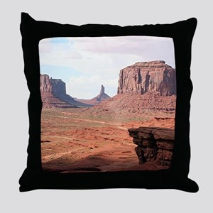 Monument Valley, John Ford's Point, U Throw Pillow