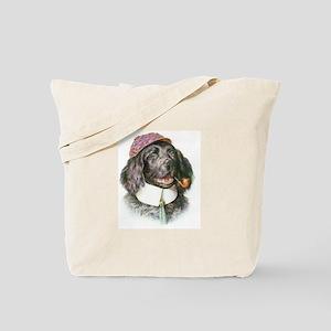 Sherlock Bones Tote Bag