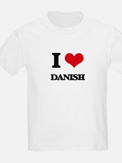I Love Danish T-Shirt