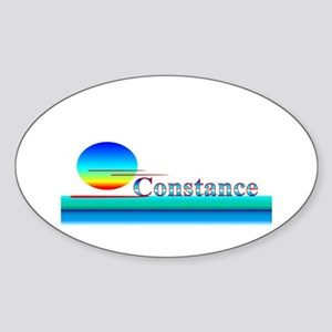 Constance Oval Sticker