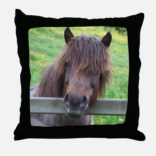 Witing for Dinner Throw Pillow