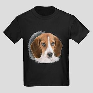 Beagle Close Up Kids Dark T-Shirt