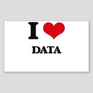 I Love Data Sticker