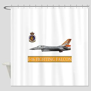 FLACON_FIGHTING_NTM_08 Shower Curtain