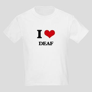 I Love Deaf T-Shirt