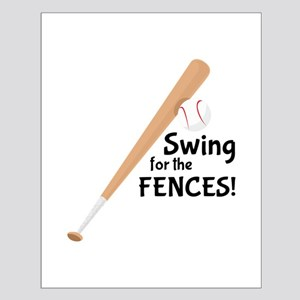 Swing fence Posters
