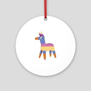 Pinata Donkey Ornament (Round)