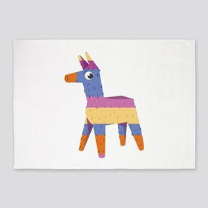 Pinata Donkey 5'x7'Area Rug
