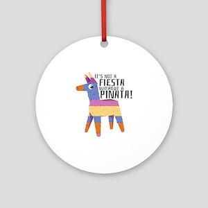 Fiesta Pinata Ornament (Round)