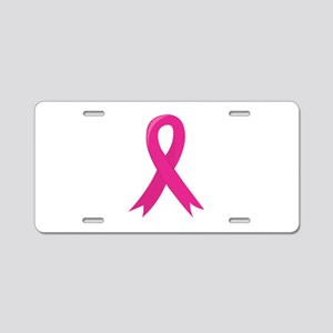 Ribbon Symbol Aluminum License Plate