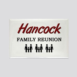 Hancock Family Reunion Rectangle Magnet