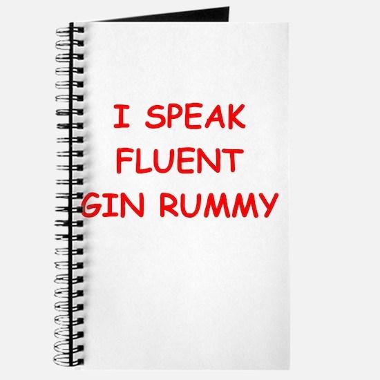 i love gin rummy Journal