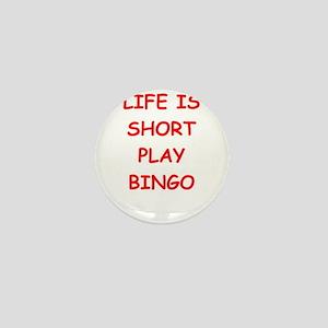 i love bingo Mini Button
