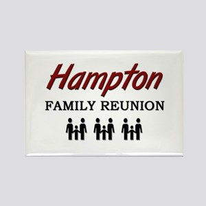 Hampton Family Reunion Rectangle Magnet