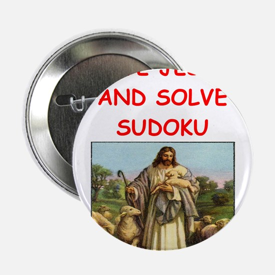 "i love sudoku 2.25"" Button (10 pack)"