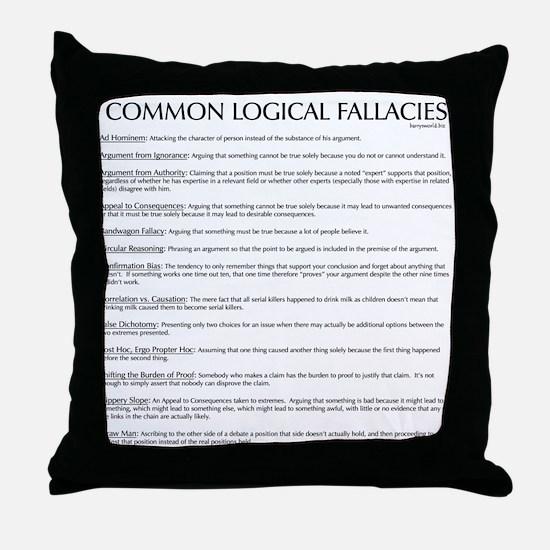 Skeptics28 Throw Pillow