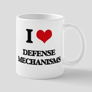 I Love Defense Mechanisms Mugs
