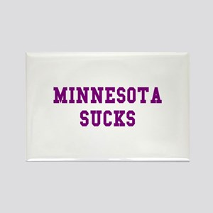 Minnesota Sucks Rectangle Magnet