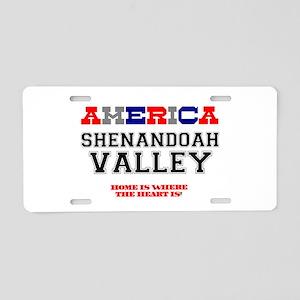 AMERICAN REGIONS - SHENANDO Aluminum License Plate