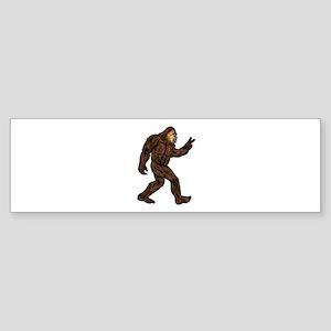 WALK ON Bumper Sticker