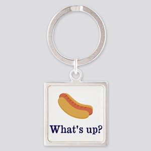 Whats up (Hot) Dog Funny Keychains