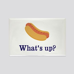 Whats up (Hot) Dog Funny Magnets