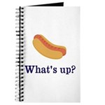 Whats up (Hot) Dog Funny Journal