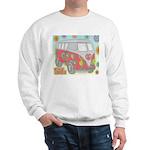 Hippie Van Glass Print Sweatshirt