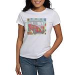Hippie Van Glass Print T-Shirt