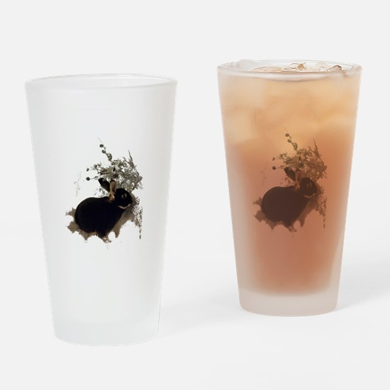 Unique Bunny Drinking Glass