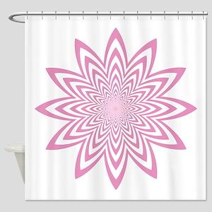 Endless Flower Shower Curtain