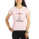 I Love Weddings Performance Dry T-Shirt