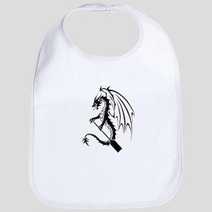 Dragon with paddle logo Bib