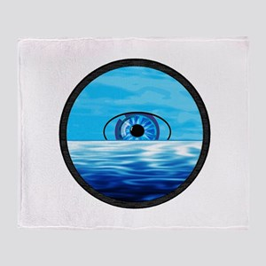 VISIONS SEA Throw Blanket