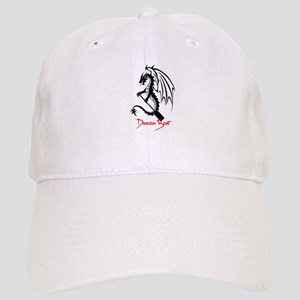 Dragon Boat red Text Cap