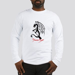 Dragon Boat red Text Long Sleeve T-Shirt