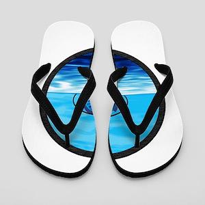 VISIONS SEA Flip Flops